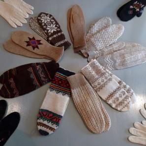 Gants islandais, Musée textile