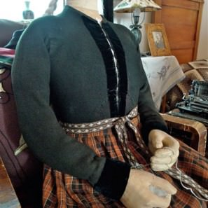 Costume femme islandais, peysufatapeysa