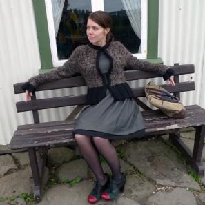 Kit Tricoteuse d'Islande: peysufatapeysa brun