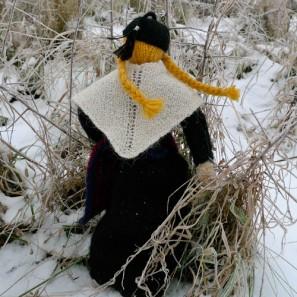 Le chat islandais de Noël dévorera-t-il Theodóra? Châle traditionnel islandais