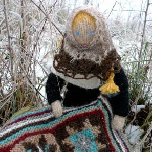 Le chat islandais de Noël dévorera-t-il Theodóra? Tricoteuse d'Islande