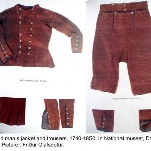 Costume homme islandais 18ème siècle