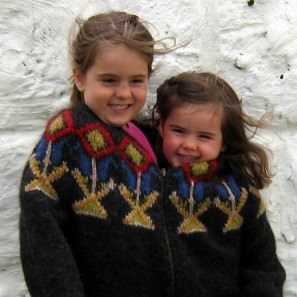 Le tricot jacquard islandais: modèle pull lopi homme