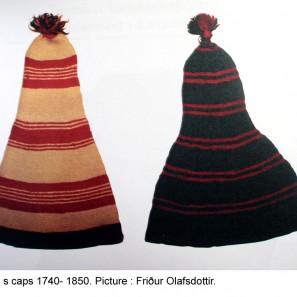 Vieux bonnets hommes islandais