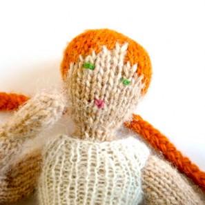 Poupée Henrietta: détail visage