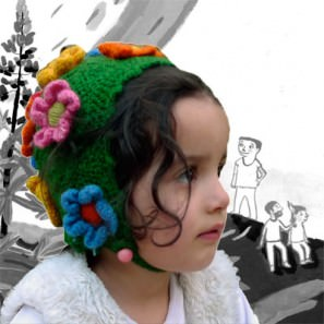 Bonnet Silène sur coussinet