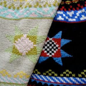 Motifs de gants traditionnels islandais