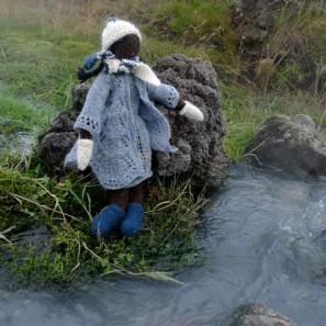 Olivia va passer la rivière