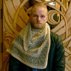 Châle islandais en pays cathare - Viking (5)