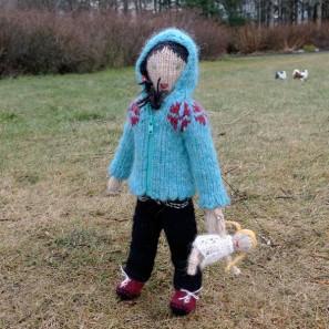 Brynja et sa poupée
