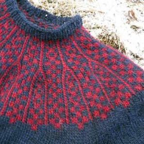 Icelandic Handknits Missing lopi sweater detail