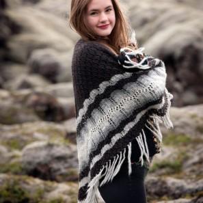 Châle Margret - Tricots islandais (2)