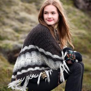 Châle Margret - Tricots islandais (1)
