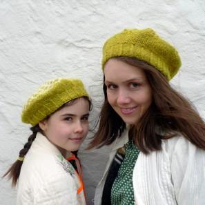 Sólblóm béret islandais en lopi et Heirloom (3)