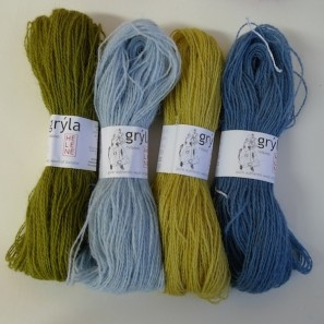 Gryla Tviband laine de mouton islandais, fil dentelle retors (4)