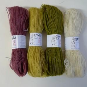 Gryla Tviband laine de mouton islandais, fil dentelle retors (3)