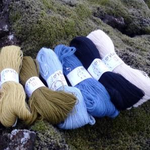 Gryla Tviband laine de mouton islandais, fil dentelle retors (2)