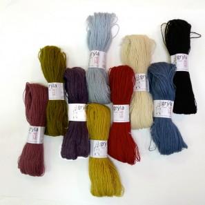 Gryla Tviband laine de mouton islandais, fil dentelle retors (10)