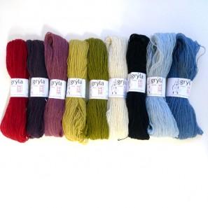 Gryla Tviband laine de mouton islandais, fil dentelle retors (8)