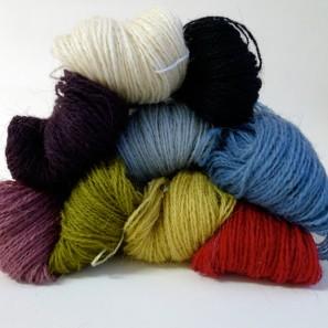 Gryla Tviband laine de mouton islandais, fil dentelle retors (11)