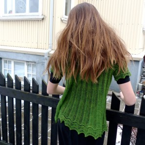 Alla gilet dentelle de tricot (12)