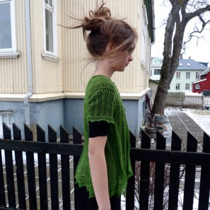 Alla gilet dentelle de tricot (9)