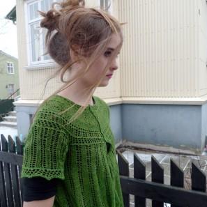 Alla gilet dentelle de tricot (8)