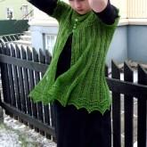 Alla gilet dentelle de tricot (5)
