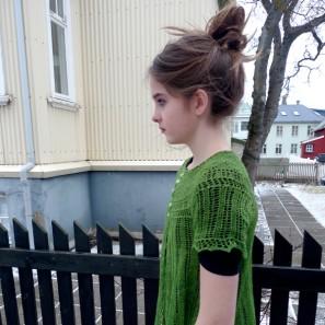 Alla gilet dentelle de tricot (4)