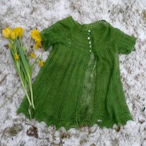 Alla gilet dentelle de tricot (3)