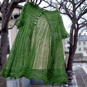 Alla gilet dentelle de tricot (2)