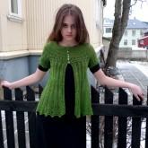 Alla gilet dentelle de tricot (1)