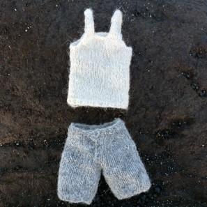 Bjarni poupée garçon islandaise en tricot (6)