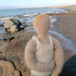 Bjarni poupée garçon islandaise en tricot (8)