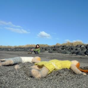 Bjarni poupée garçon islandaise en tricot (12)