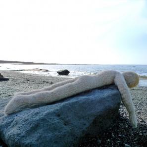 Bjarni poupée garçon islandaise en tricot (1)