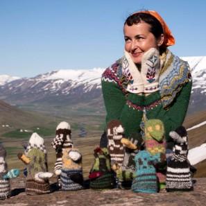 Tricot-trek sous le soleil de minuit avec Helene Magnusson