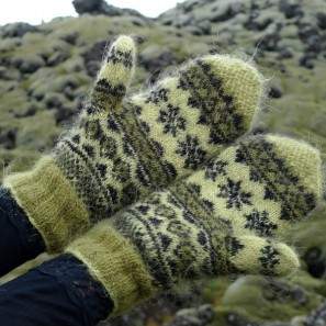 Mosi, moufles traditionelles islandaises, laine Gryla (6)