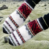 Vestifirskir moufles islandaises tricotées avec Gryla (1)