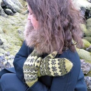 Mosi, moufles traditionelles islandaises, laine Gryla (3)