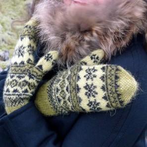 Mosi, moufles traditionelles islandaises, laine Gryla (2)