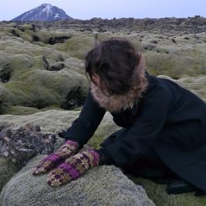 Rosir moufles traditionnelles islandaises (1)