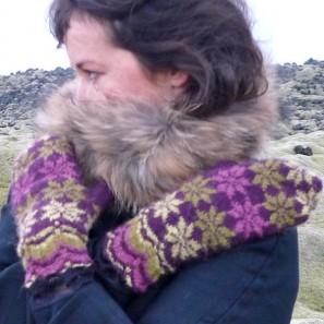 Rosir moufles traditionnelles islandaises (6)