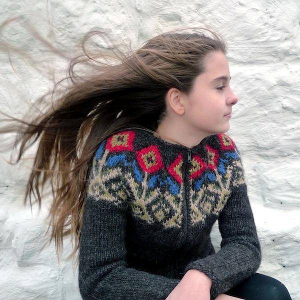 un joli pull islandais tricot en laine islandaise l ttlopi de lopi