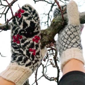 Starri moufles islandaises tricotées avec Gryla (6)