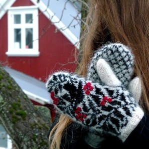 Starri moufles islandaises tricotées avec Gryla (4)