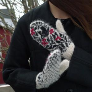 Starri moufles islandaises tricotées avec Gryla (3)