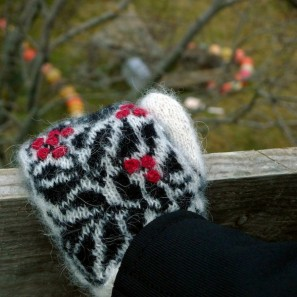 Starri moufles islandaises tricotées avec Gryla (2)