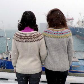 Gamaldags pull lopi traditionnel islandais - lopapeysa (12)