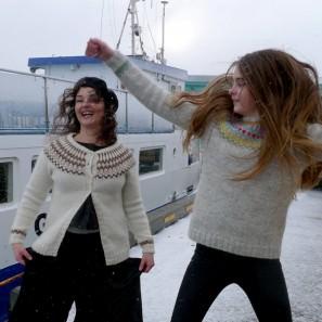 Gamaldags pull lopi traditionnel islandais - lopapeysa (6)